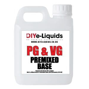 Vegetable Glycerine Propylene Glycol Premixed Base