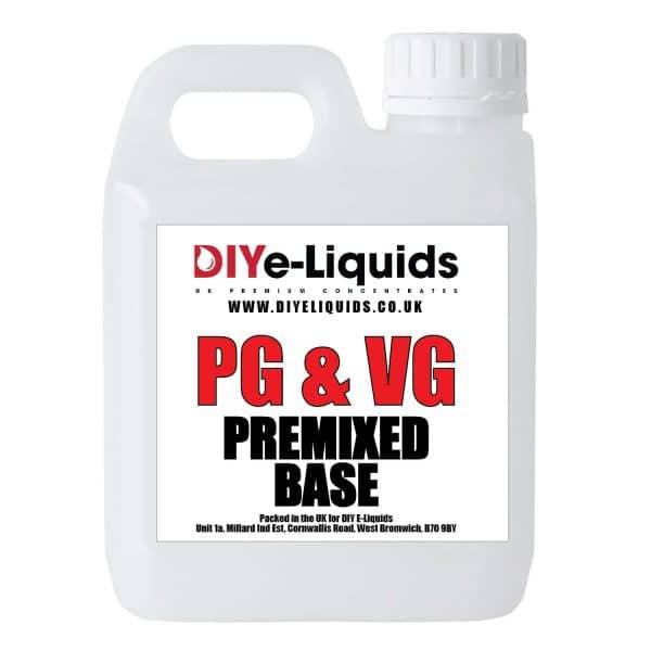 Vegetable Glycerine Propylene Glycol Premixed Base