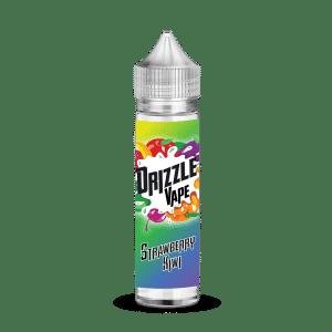Strawberry & Kiwi Flavour 50ml Drizzle Vape E-Liquids