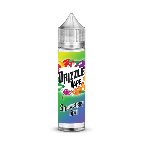 Strawberry & Kiwi Flavour 50ml Drizzle Vape E-Liquids