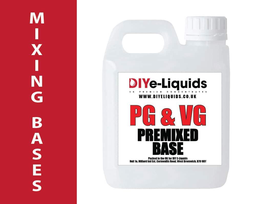 E Liquid Mixing Bases