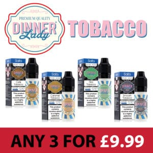 Dinner Lady Tobacco Nic Salts